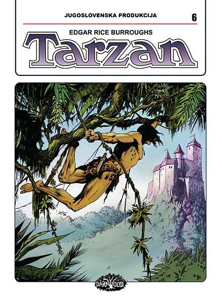 YU TARZAN br. 6 (Strip album HC )