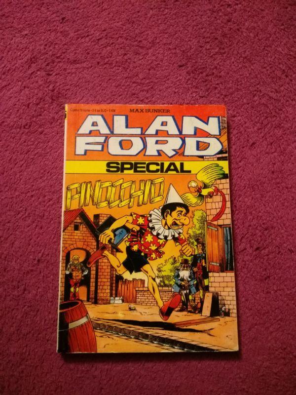 ALAN FORD SPECIAL Borgis Mali br. 15 - Pinocchio