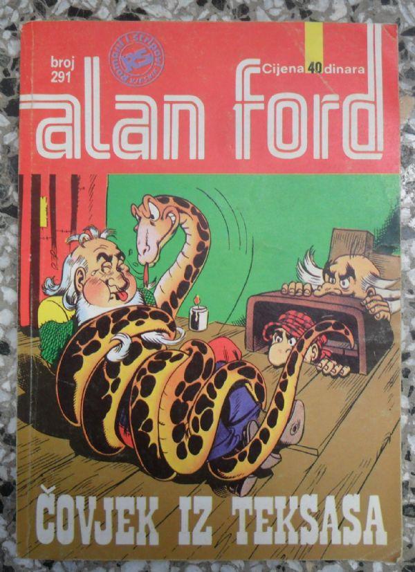 Alan Ford SS 291 - ČOVJEK IZ TEKSASA