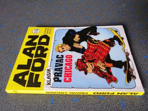 Alan Ford klasik 115 - Pravac Chicago (Strip agent)