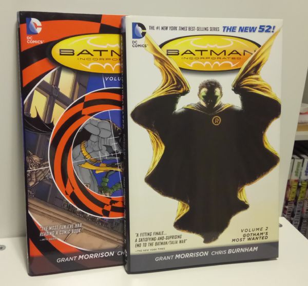 Batman Incorporated NEW 52 HC 1-2 komplet