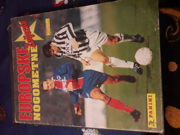 Panini - europske nogometne zvijezde