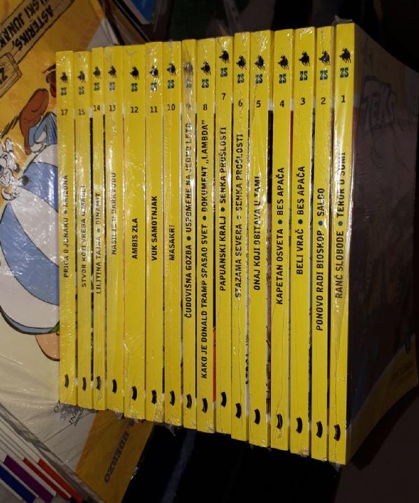 Zlatna Serija VČ komplet 1 do 15 plus 17