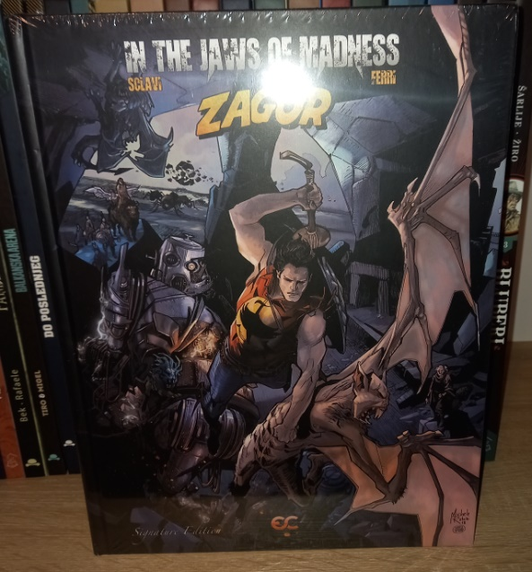 Zagor In the Jaws of Madness Epicenter Comics Rubini cover HC