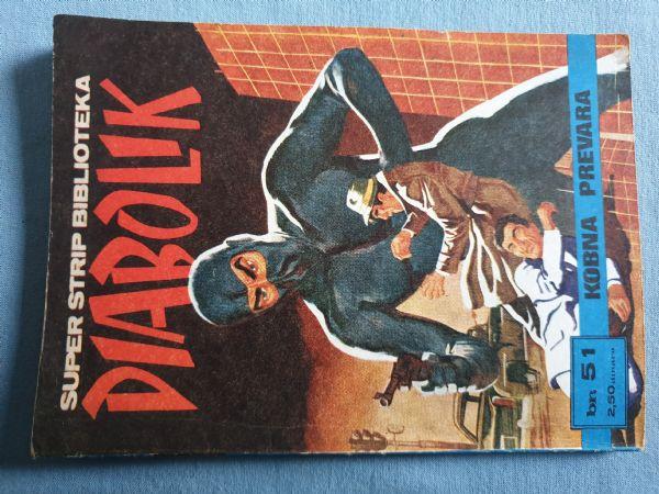 Strip Diabolik  SSB   Br 51  Ocijena -5