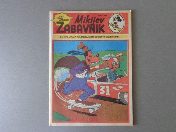 MIKIJEV ZABAVNIK Br 174 1978 GOD.  ( - 5  )