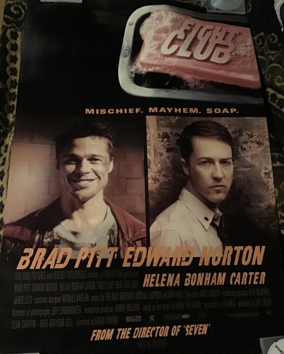 Fight Club - filmski plakat
