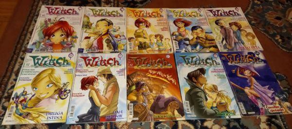Witch Egmont lot 10 stripova