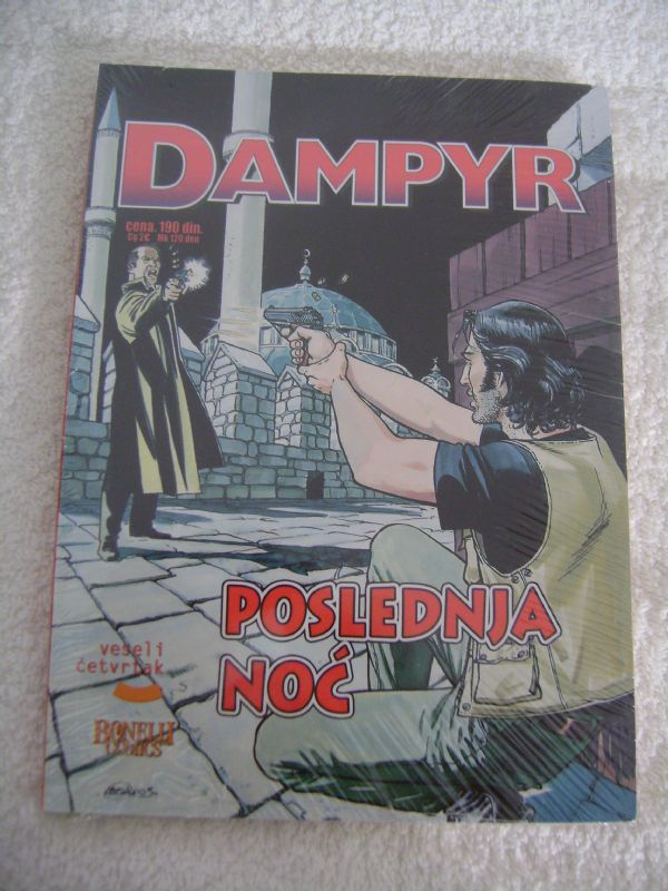 DAMPYR 39 - POSLEDNJA NOĆ - VESELI ČETVRTAK