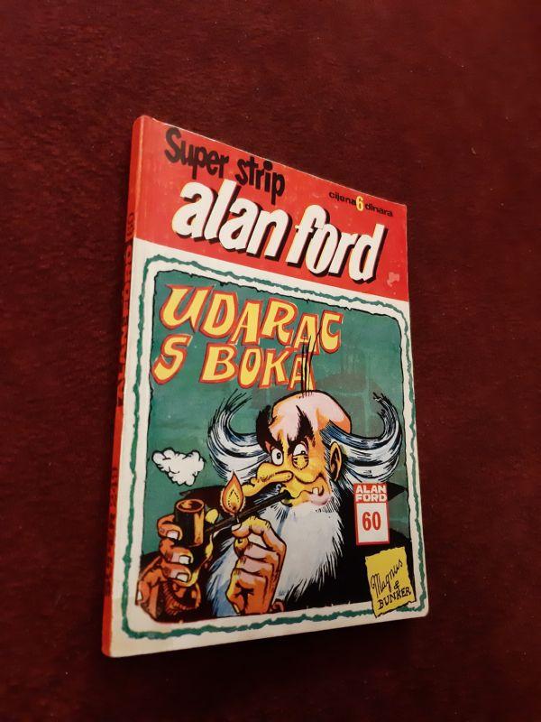 ALAN FORD Superstrip br. 60 - Udarac s boka