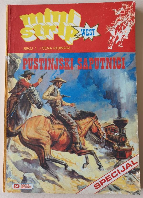 Mini strip west - Specijal 1 (Dečje novine)