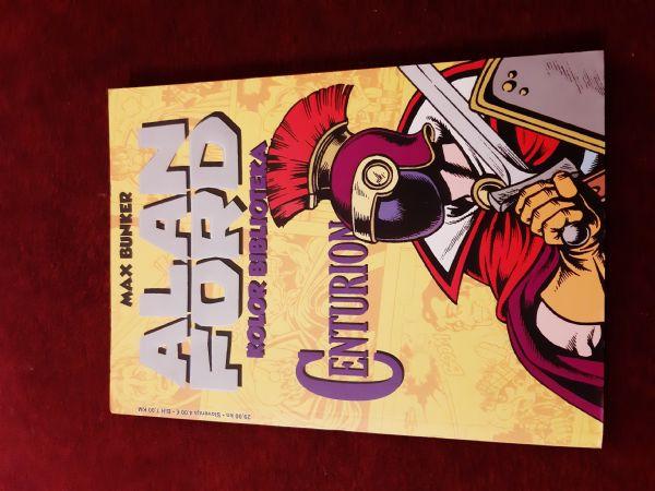 ALAN FORD SA Kolor Biblioteka br. 4 Centurion