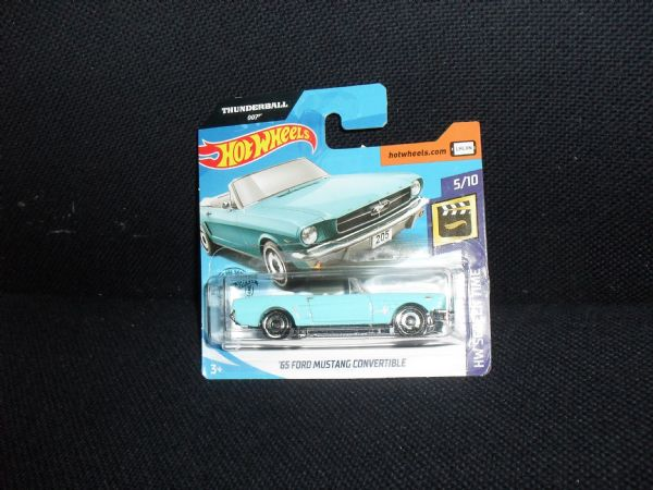 FORD MUSTANG ´65 - car legend hot wheels