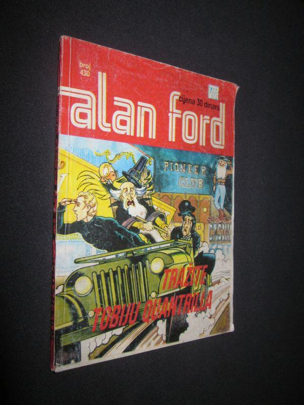Alan Ford 430. Tražite Tobiju Quantrila