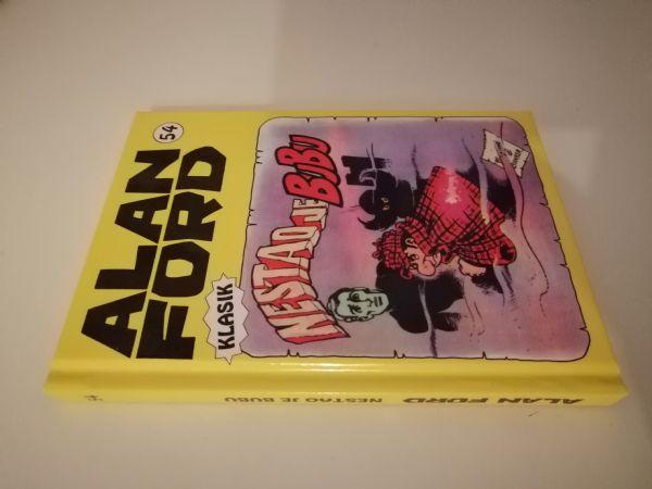 Alan Ford klasik 54 - Nestao je Bubu (Strip agent) TVRDE KORICE