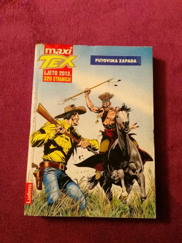 TEX Maxi Ludens br. 12 Putovima zapada