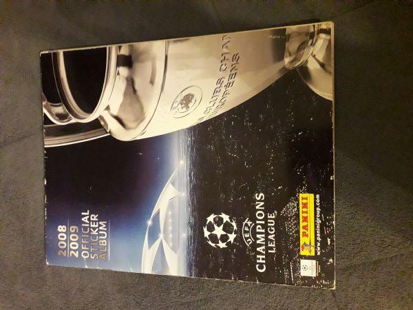 Uefa Champions league 2008/09 Panini