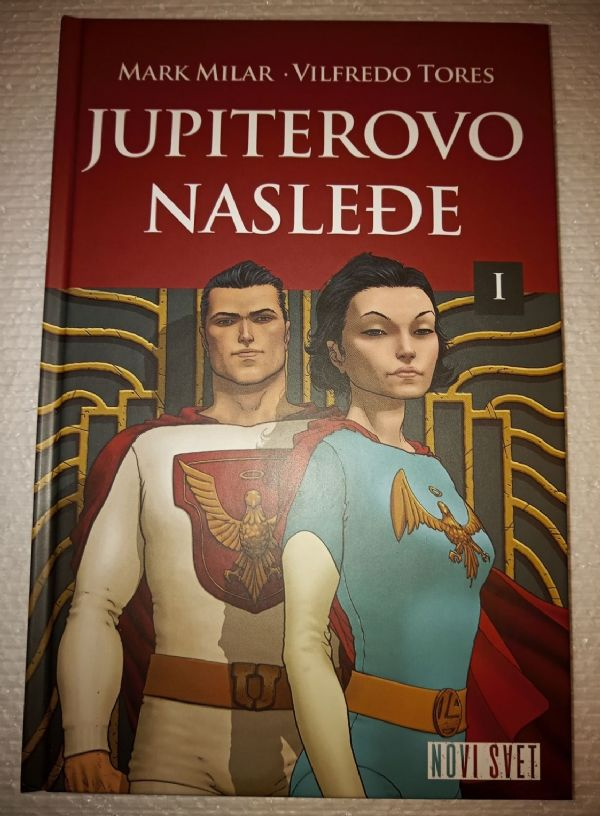 Jupiterovo nasleđe knjiga 1 Čarobna knjiga