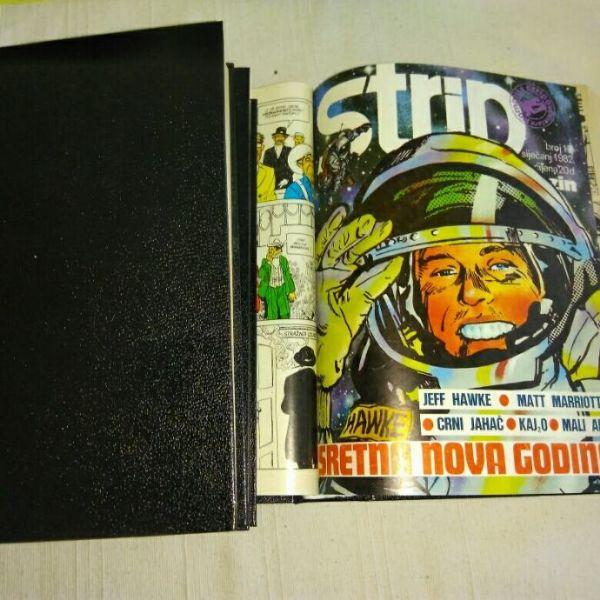 Strip magazin & Naš strip, uvezani kompleti