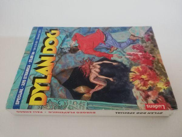 Dylan Dog dupli specijal (Ludens) - Duboko plavetnilo/Pali anđeo