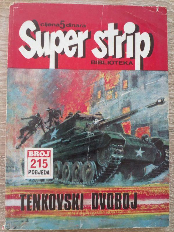 SUPER STRIP BIBLIOTEKA 215, POBJEDA 40