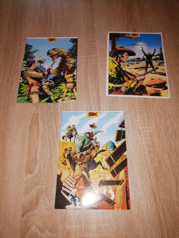 Tex 3 razglednice, prazne