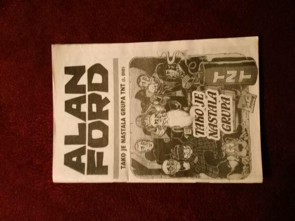 Alan Ford Prilog Večernjeg lista - Tako je nastala grupa TNT I.dio