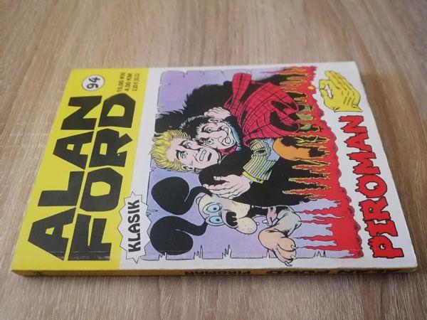 Alan Ford extra 94 - Piroman(Strip agent)