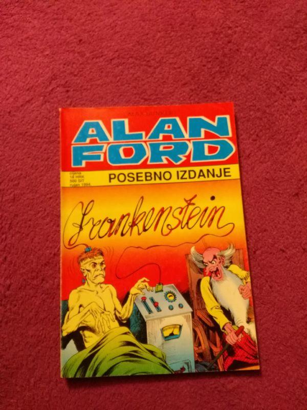 ALAN FORD SPECIAL - Borgis SP Veliki br. 6 - Frankenstein