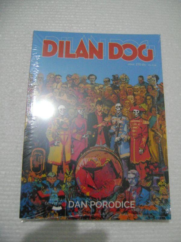 DYLAN DOG 157 - DAN PORODICE - VESELI ČETVRTAK