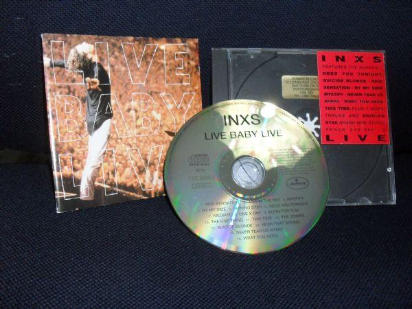 CD INXS LIVE +5