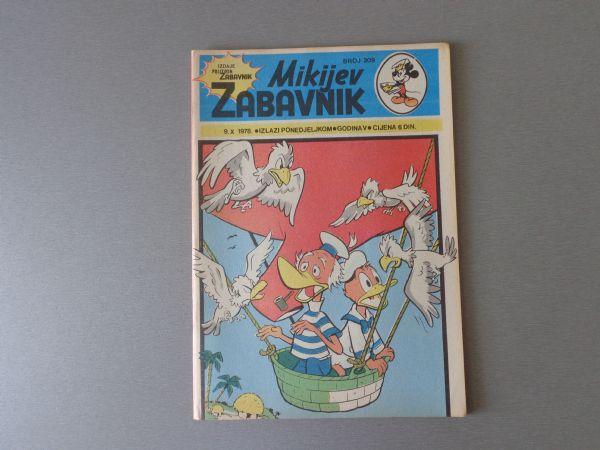 MIKIJEV ZABAVNIK Br 209  1978 GOD.  (  5 )