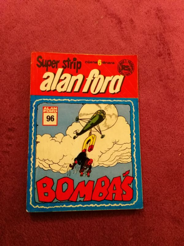 ALAN FORD Superstrip br. 96 - Bombaš