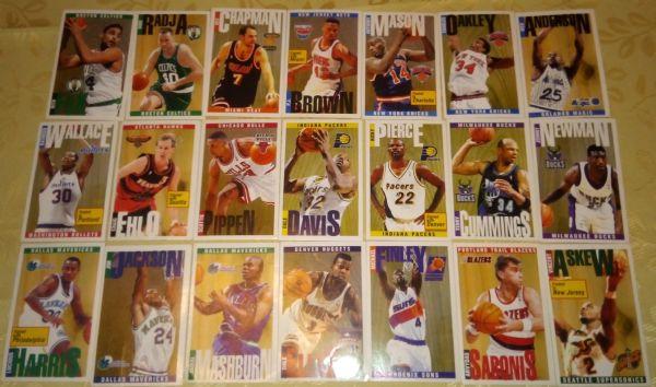 Basketball '96/'97 -Lot 21 sličica Panini