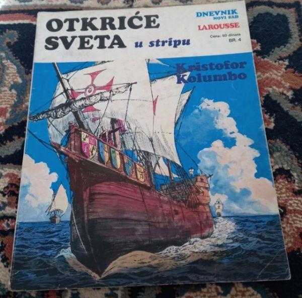 Otkriće sveta u stripu br.4 Kristofor Kolumbo
