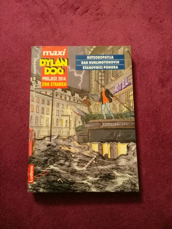 Dylan Dog Ludens Maxi br. 10