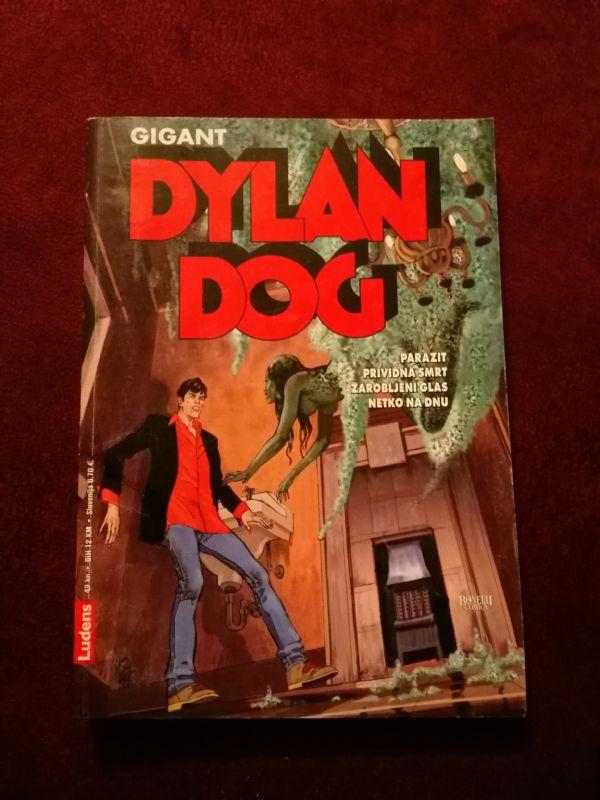 Dylan Dog Ludens Gigant br. 12 - Parazit - Prividna smrt - Zarobljeni glas - Netko na dnu