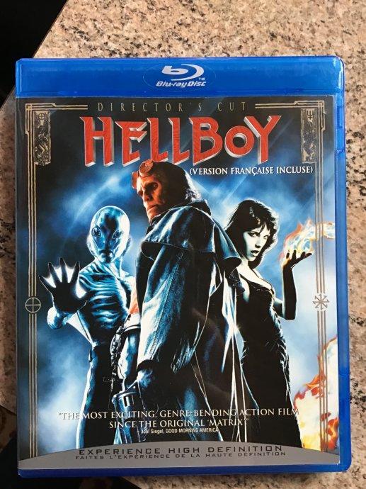 Hellboy - director's cut - blu-ray