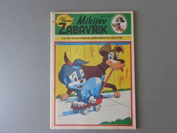 MIKIJEV ZABAVNIK Br 178 1978 GOD.  ( - 5 / 5 )