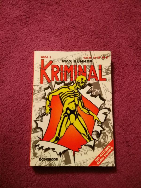 Kriminal Bookglobe br. 1