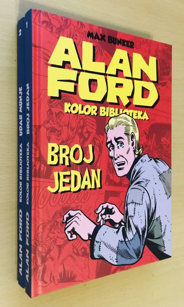 ALAN FORD kolor biblioteka br. 1 i 2 - tvrdi uvez (SA)