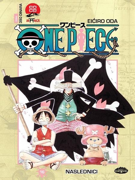ONE PIECE  (Manga) br. 16