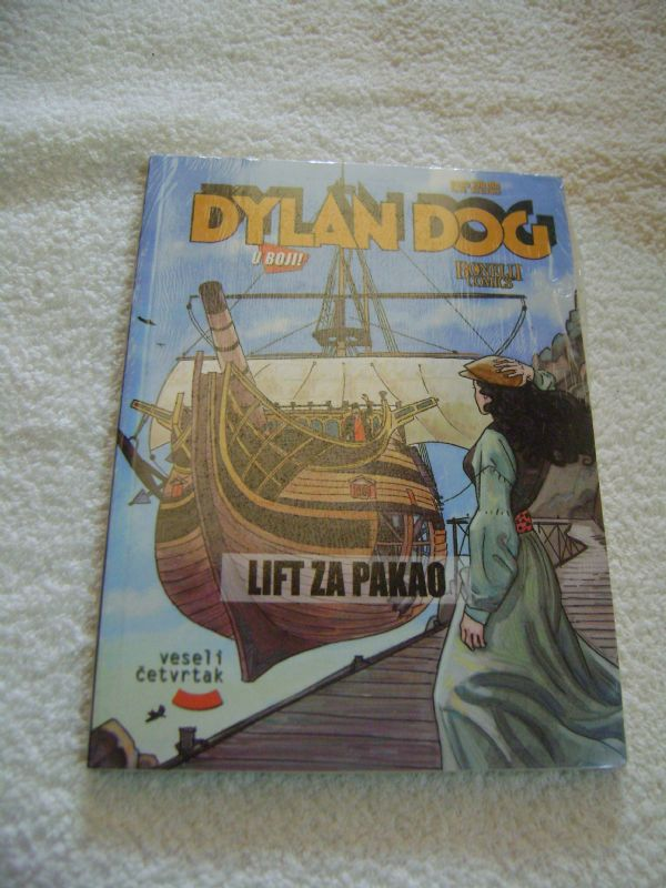 DYLAN DOG 41 - LIFT ZA PAKAO - VESELI ČETVRTAK