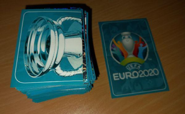 Euro 2020 Preview plava verzija lot 373 različitite sličice