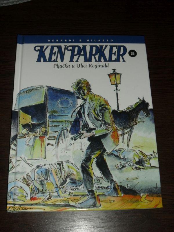 Ken Parker Fibra br. 55 Pljačka u Ulici Reginald (-5)
