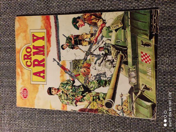 Album sa sličicama CRO Army Kraš