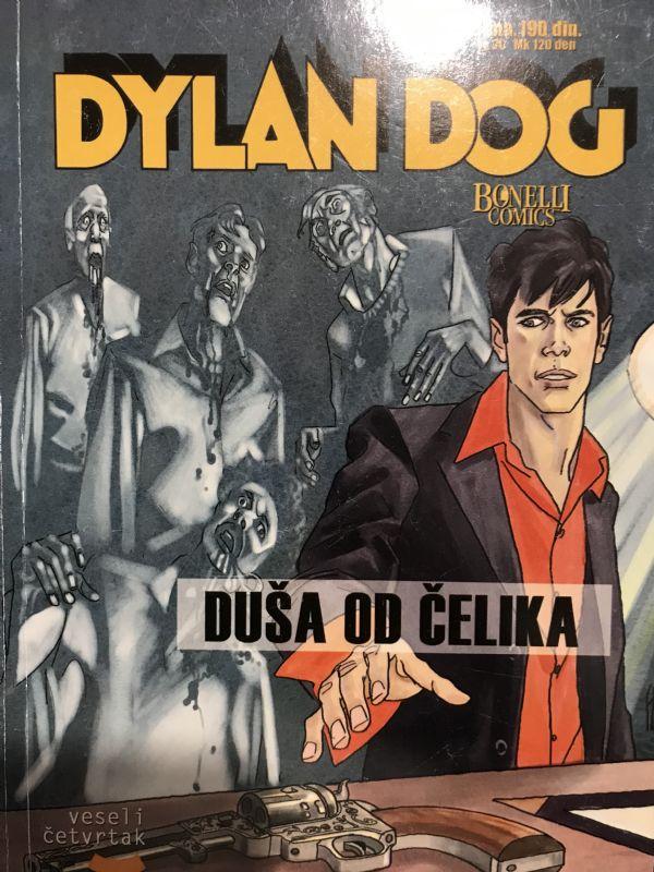 Dylan Dog VC br 39 - Duša od čelika