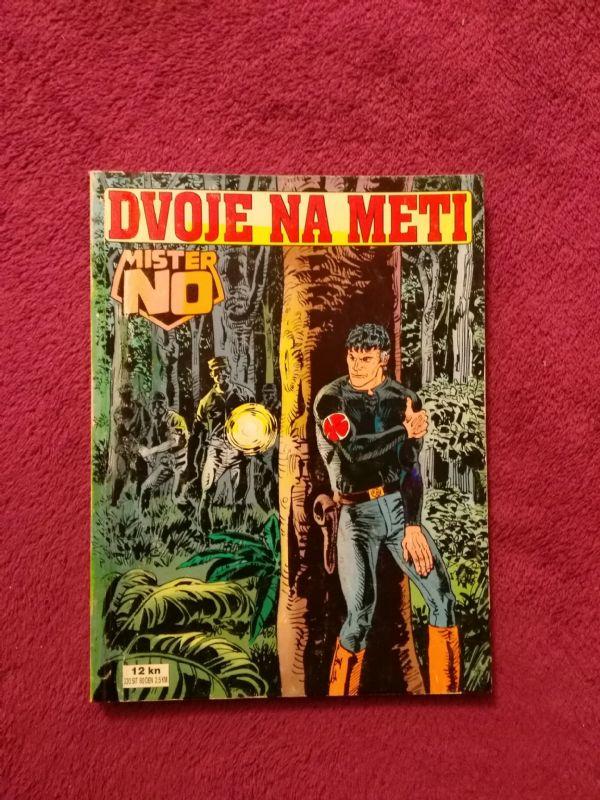 Mister No Slobodna Dalmacija br. 17 - Dvoje na meti (4+)