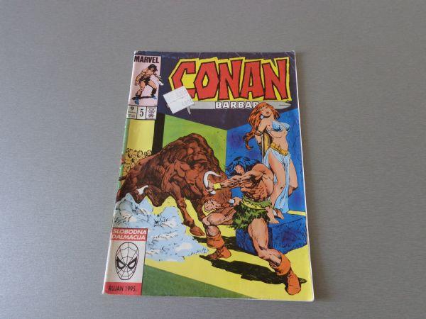 CONAN BARBAR Br 5  SD  ( 4+ )