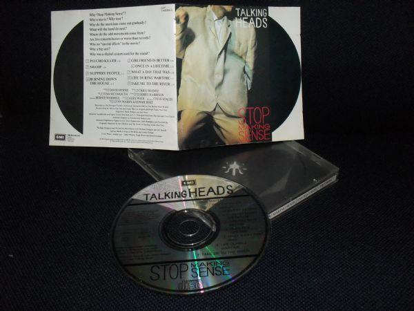 CD TALKING HEADS  -  STOP MAKING SENSE